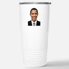 Obama Stainless Steel Travel Mug