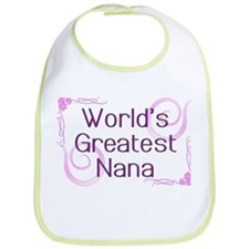 World's Greatest Nana Bib