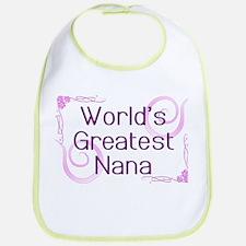 World's Greatest Nana Bib