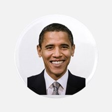 """Obama 3.5"""" Button (100 pack)"""