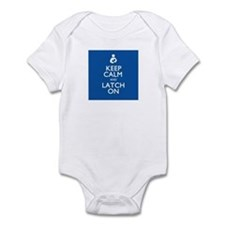 Keep Calm and Latch On Infant Bodysuit