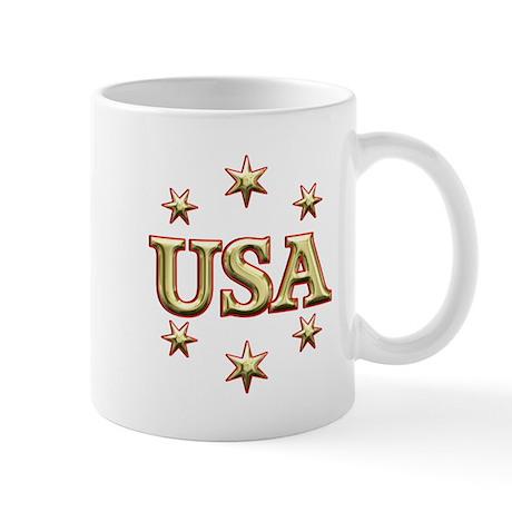 USA Gold Mug