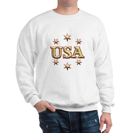 USA Gold Sweatshirt