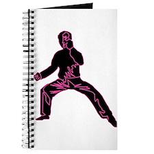 Blue Fist Pink Journal