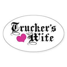 Trucker's Wife Bumper Stickers
