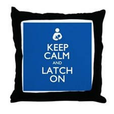 Cool Nurse keep calm Throw Pillow