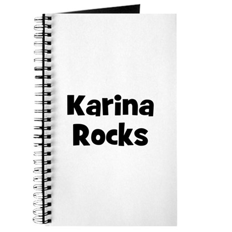 Karina Rocks Journal