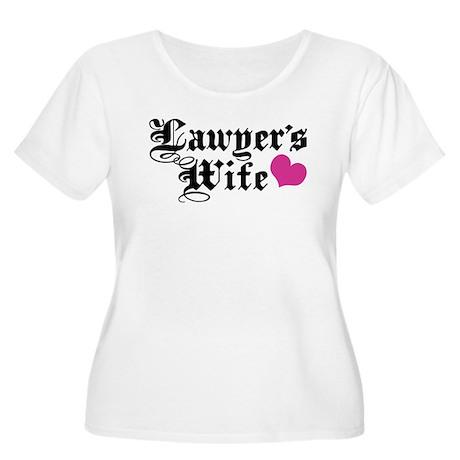 Lawyer's Wife Women's Plus Size Scoop Neck T-Shirt