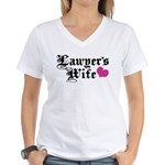 Lawyer's Wife Women's V-Neck T-Shirt