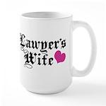 Lawyer's Wife Large Mug
