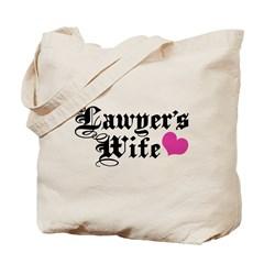 Lawyer's Wife Tote Bag