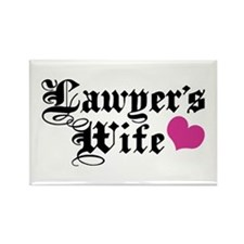 Lawyer's Wife Rectangle Magnet