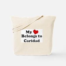My Heart: Caridad Tote Bag