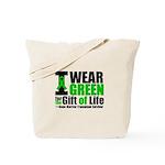 BMT I Wear Green Tote Bag