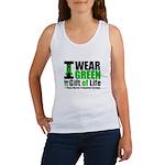 BMT I Wear Green Women's Tank Top