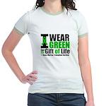 BMT I Wear Green Jr. Ringer T-Shirt