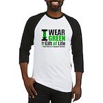 BMT I Wear Green Baseball Jersey