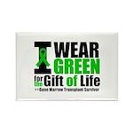 BMT I Wear Green Rectangle Magnet (100 pack)