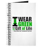 BMT I Wear Green Journal