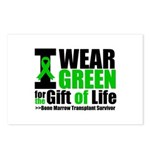 BMT I Wear Green Postcards (Package of 8)