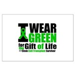 BMT I Wear Green Large Poster