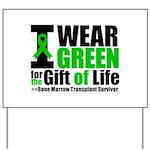 BMT I Wear Green Yard Sign