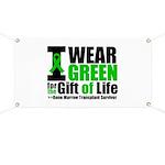 BMT I Wear Green Banner