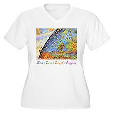 Live Love Laugh Imagine T-Shirt