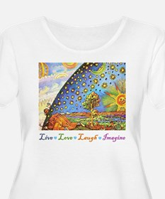Live Love Laugh Imagine T-Shirt