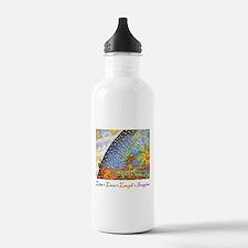 Live Love Laugh Imagine Water Bottle