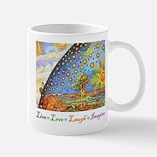 Live Love Laugh Imagine Mug