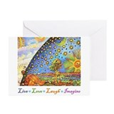 Art teacher Greeting Cards (10 Pack)