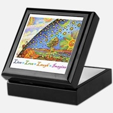 Live Love Laugh Imagine Keepsake Box