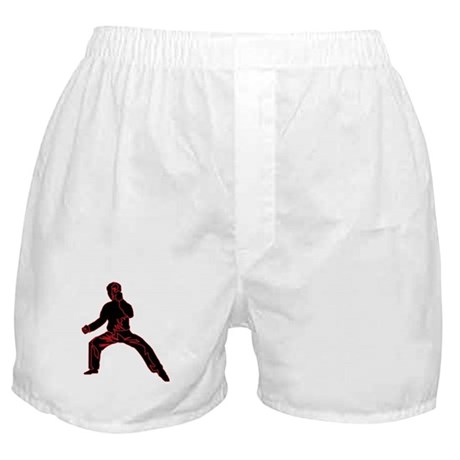 Blue Fist Boxer Shorts
