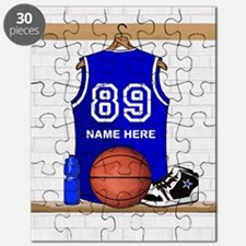 Personalized Basketball Jerse Puzzle