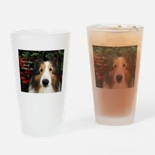 You're the woof of my Life Drinking Glass