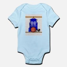 Personalized Basketball Jerse Infant Bodysuit