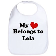 My Heart: Lela Bib