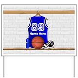 Basketball Yard Signs