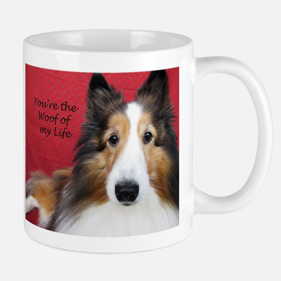Woof of My Life Mug