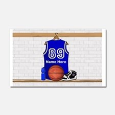 Basketball Car Accessories Auto Stickers License Plates  More - Custom basketball car magnets
