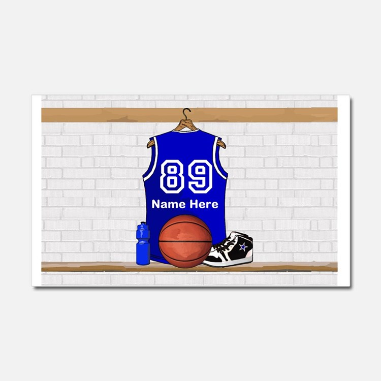 Personalized Basketball Jerse Car Magnet 20 x 12