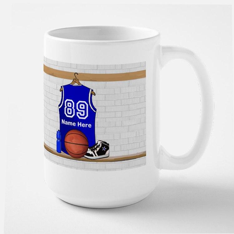 Personalized Basketball Jerse Mug