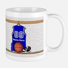 Personalized Basketball Jerse Small Small Mug