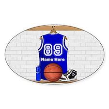 Personalized Basketball Jerse Decal