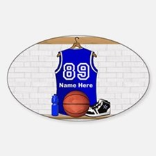 Personalized Basketball Jerse Decal