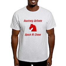 Defeats Spock At Chess T-Shirt