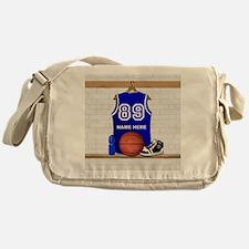 Personalized Basketball Jerse Messenger Bag