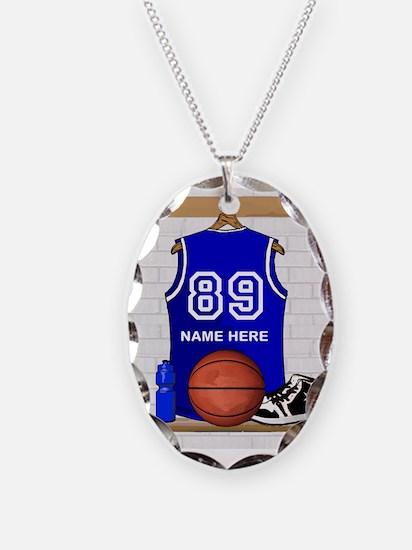 Personalized Basketball Jerse Necklace