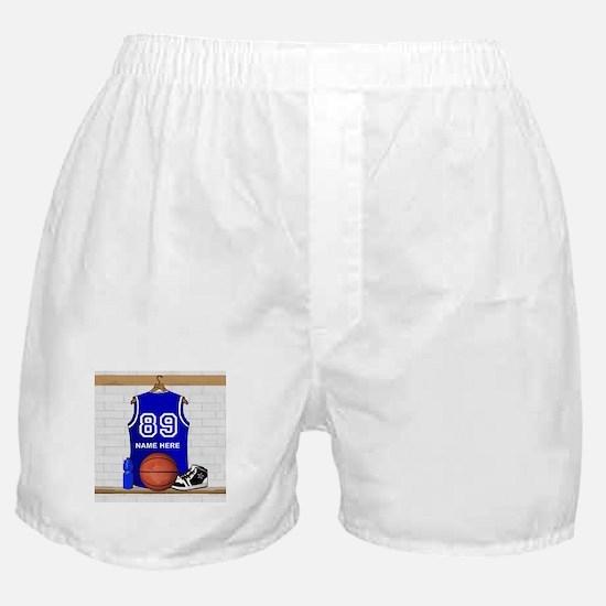 Personalized Basketball Jerse Boxer Shorts
